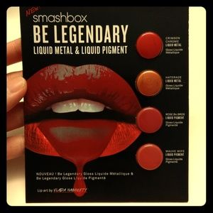 Smashbox Be Legendary liquid lipstick sample